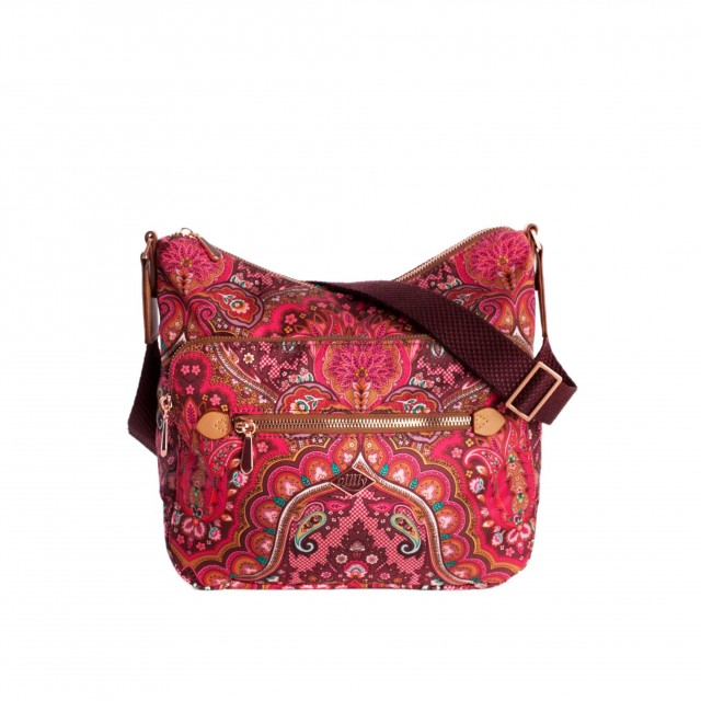 Oilily Paisley M Shoulder Bag Cherry