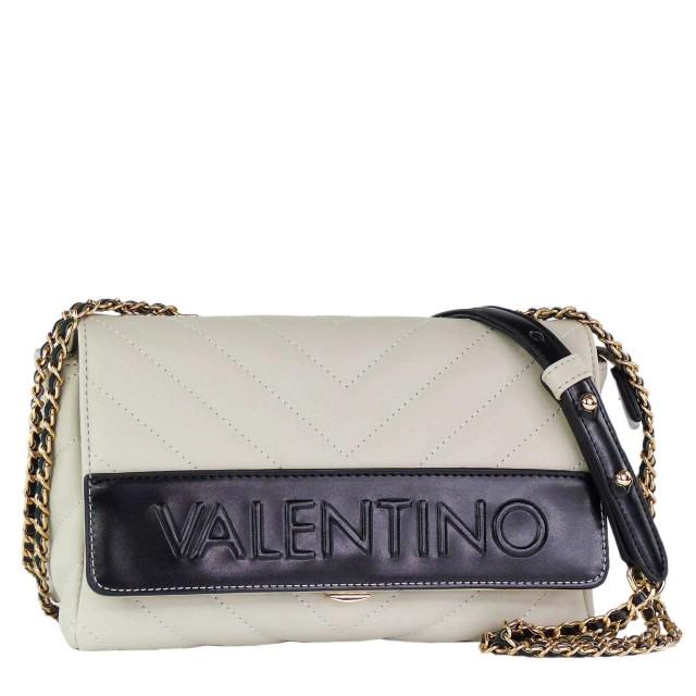 Valentino by Mario Valentino Chocolat Schultertasche Grau Schwarz