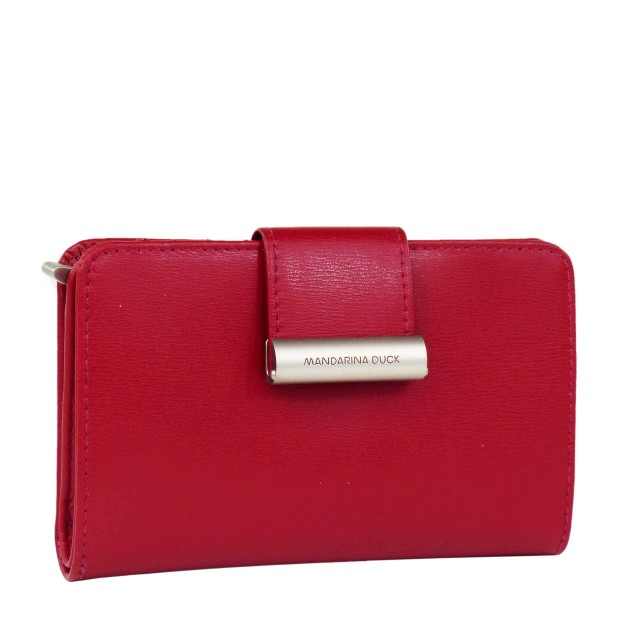 Mandarina Duck Hera.3 Medium Bifold Wallet RAP15 Red