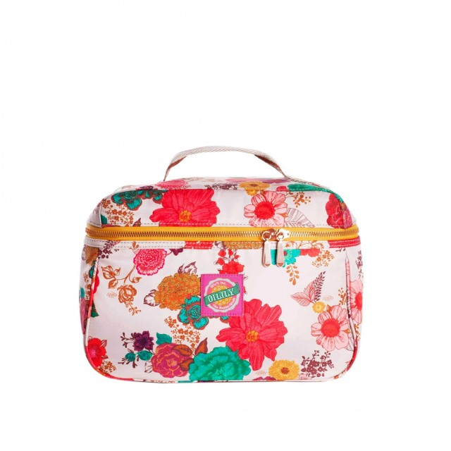 Oilily Colour Splash L Beauty Case Winter White