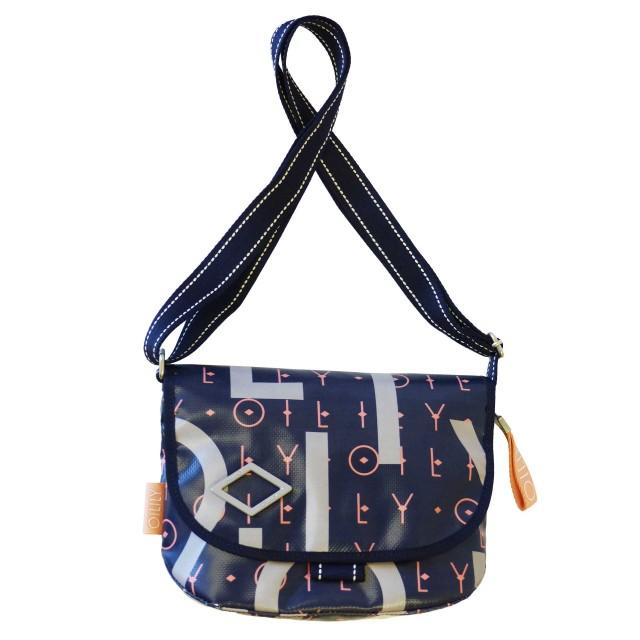 Oilily Lori Letters Shoulderbag Shf Schultertasche Blau
