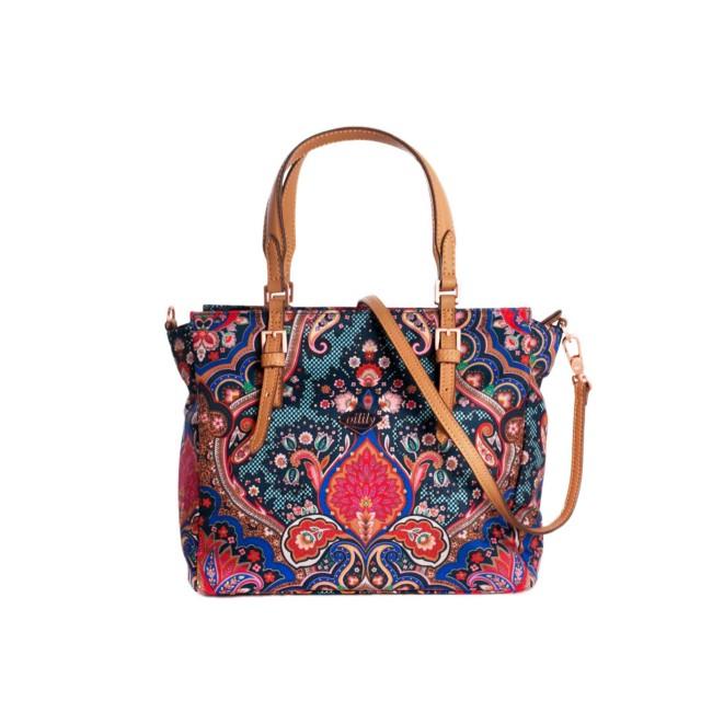 Oilily Paisley S Handbag Royal Blue