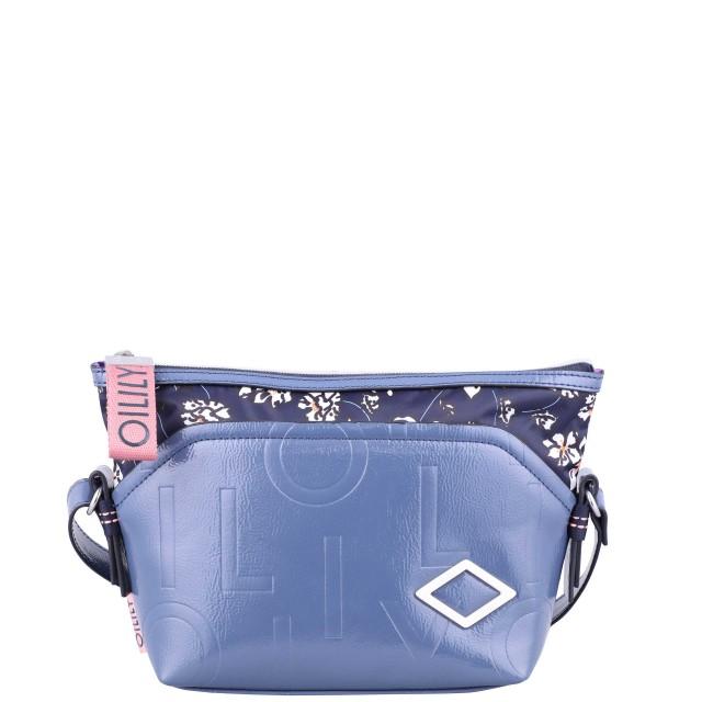 Oilily Brightly Shoulderbag Mvz Schultertasche Blau