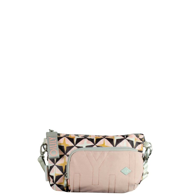 Oilily Charm Geometrical Shoulderbag Shz 2 Schultertasche Rose