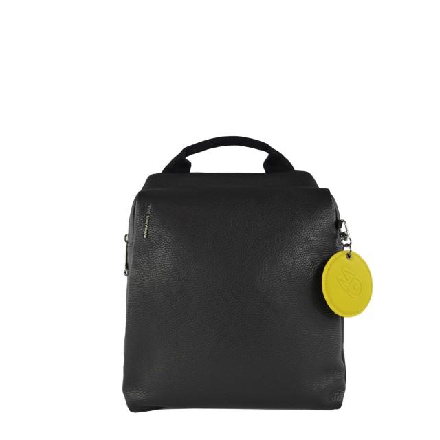 Mandarina Duck Mellow Leather Rucksack Nero FZT66001