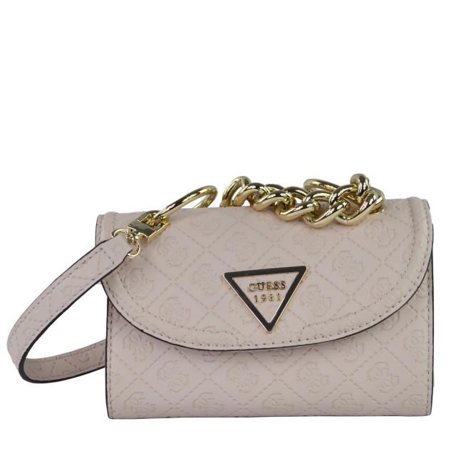 Guess Lyra Mini Abendtasche Stone HWSG7100780