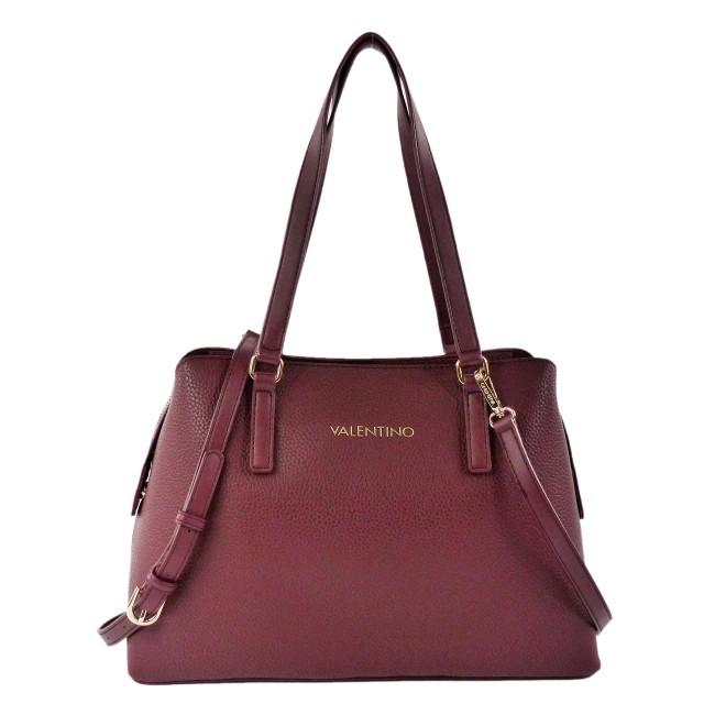 VALENTINO BAGS Superman Shopping Bag VBS2U808-Vino