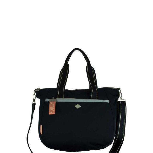 Oilily Groovy Handbag Mhz Henkeltasche Blau