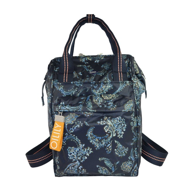 Oilily Groovy Backpack Mvz Rucksack Dunkelblau