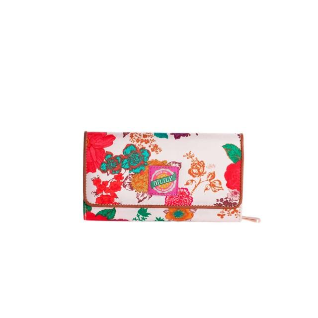 Oilily Colour Splash L Wallet Winter White