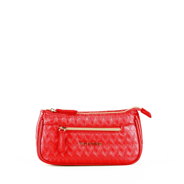 VALENTINO BAGS Golden Basic Cosmetic Bag Rosso