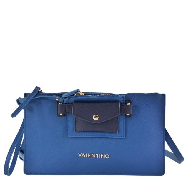 VALENTINO BAGS Prestige VBS1DO04 Umhängetasche/Clutch Petrolio/Blu