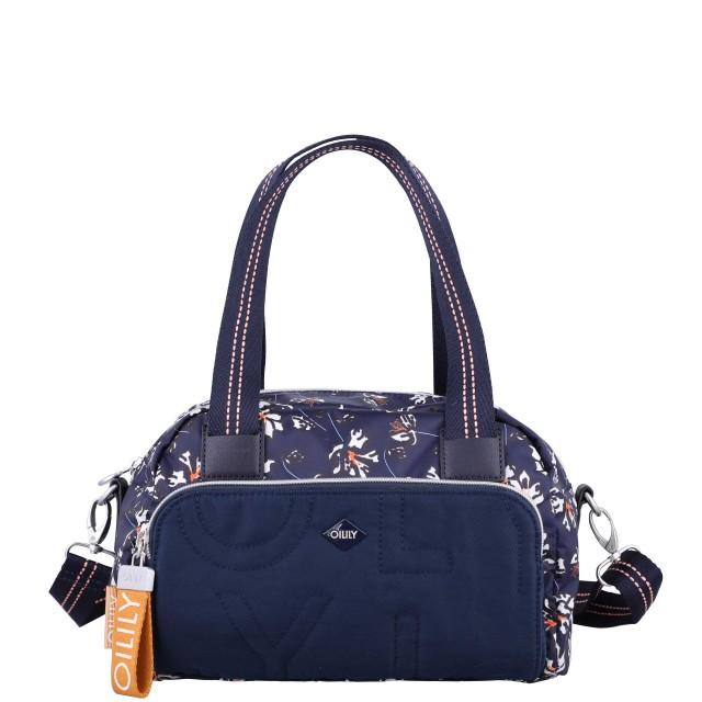 Oilily Charm Handbag Shz Handtasche Blauschwarz