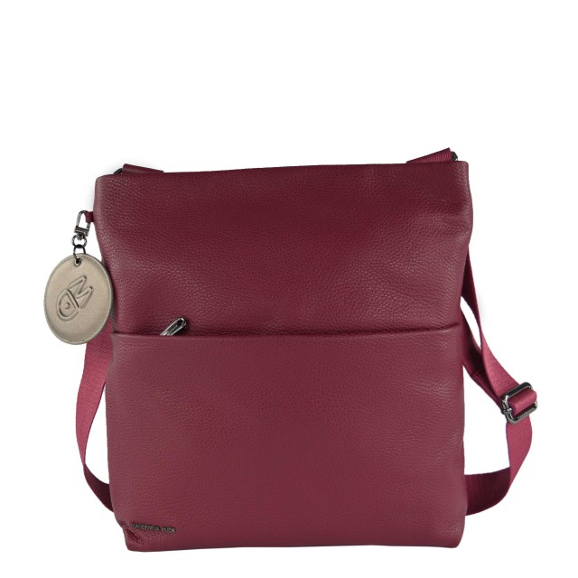 Mandarina Duck Mellow Leather Umhängetasche Red Plum FZT6822T