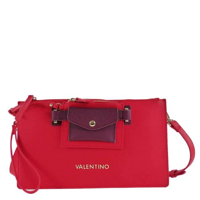 VALENTINO BAGS Prestige VBS1DO04 Umhängetasche/Clutch Rosso/Bordeaux