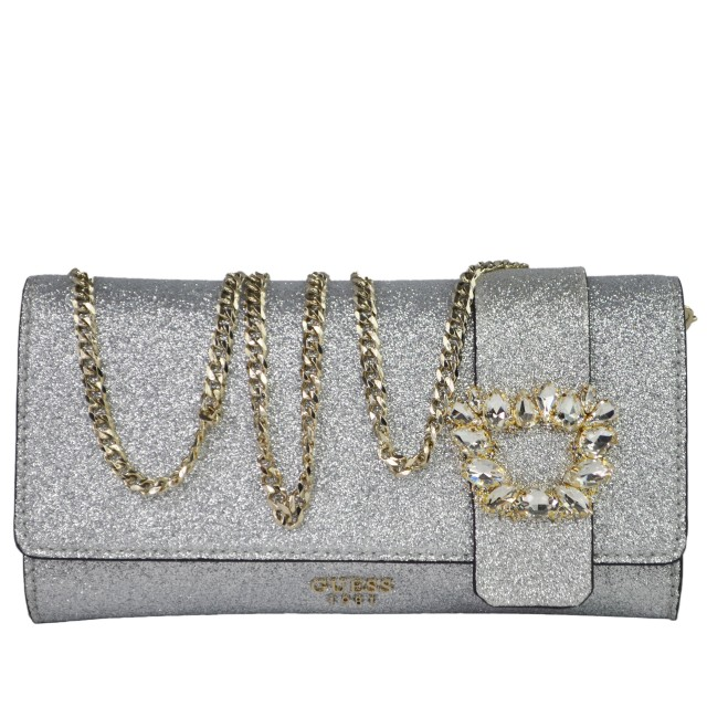 Guess Starry Night Silber Clutch HWJB7111720