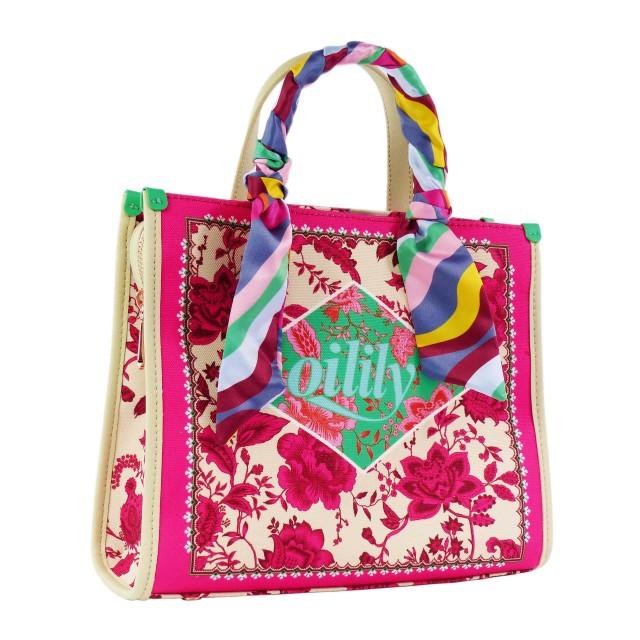 Oilily Signature S Handbag OIL0128-307 Pink Glo