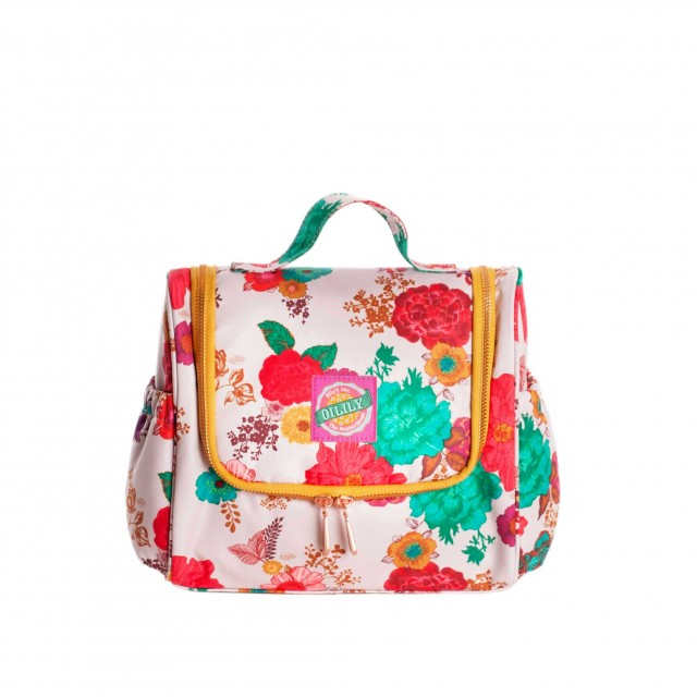 Oilily Colour Splash Travel Kit With Hook Winter White