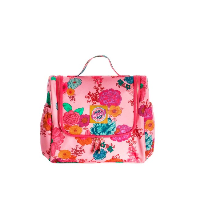Oilily Colour Splash Travel Kit With Hook Camellia