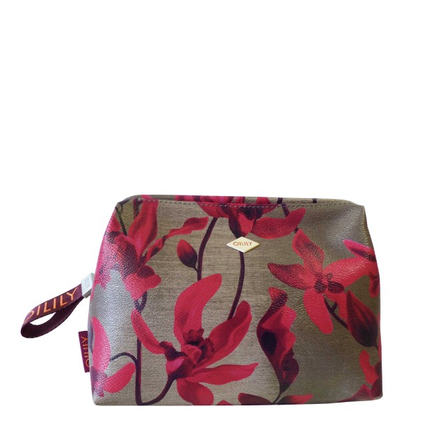 Oilily Jolly Cosmetic Pouch LHZ 2 Kosmetiktasche Rot