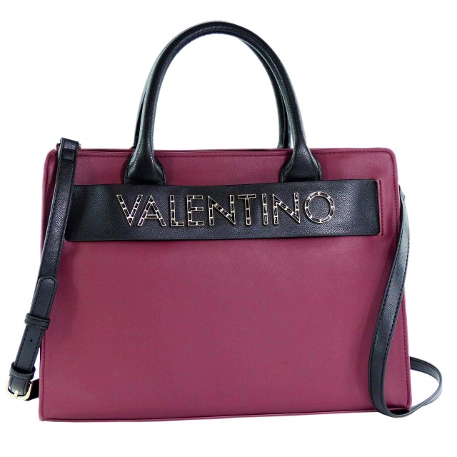 Valentino by Mario Valentino Fisarmonica Handtasche Lila-Schwarz