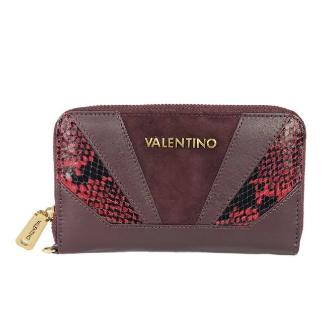 Valentino Detroit Bordeaux Geldbörse VLPP2EO167
