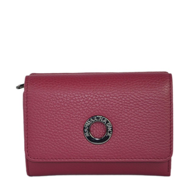 Mandarina Duck Mellow Leather Portemonnaie Red Plum FZP6522T