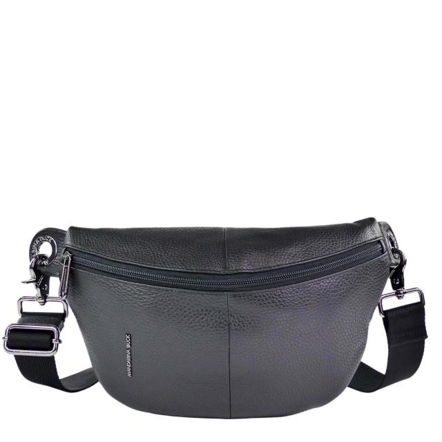Mandarina Duck Mellow Leather FZT73 Bum Bag Nero