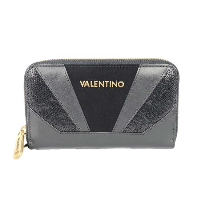 Valentino by Mario Valentino Detroit Nero Geldbörse Schwarz VLPP2EO166