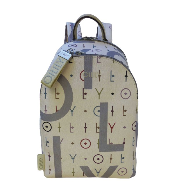 Oilily Jolly Letters Backpack Mvz Rucksackhandtasche Offwhite