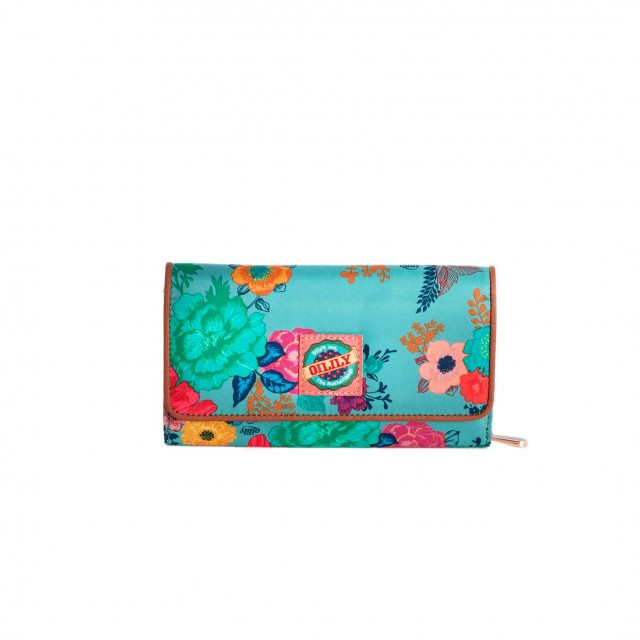 Oilily Colour Splash L Wallet Sea Breeze