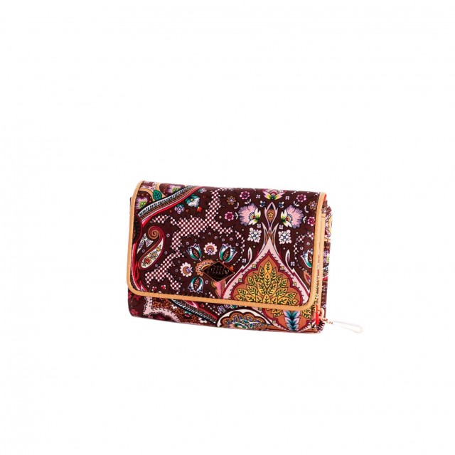 Oilily Paisley S Wallet Coffee