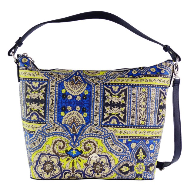 Oilily Orient Hobo Bag LHZ Blue