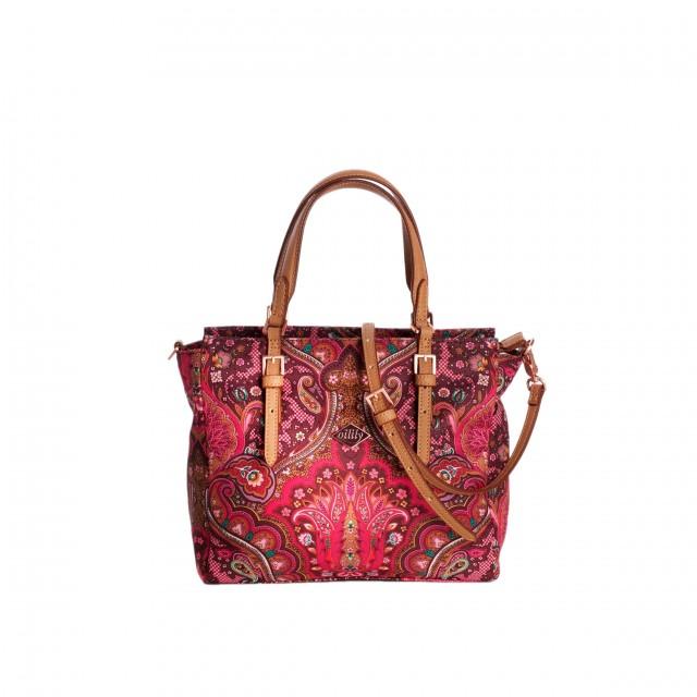 Oilily Paisley S Handbag Cherry