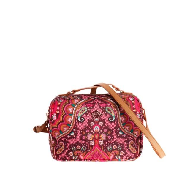Oilily Paisley S Shoulder Bag Cherry