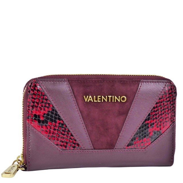 Valentino by Mario Valentino Detroit Bordeaux Geldbörse VLPP2EO167