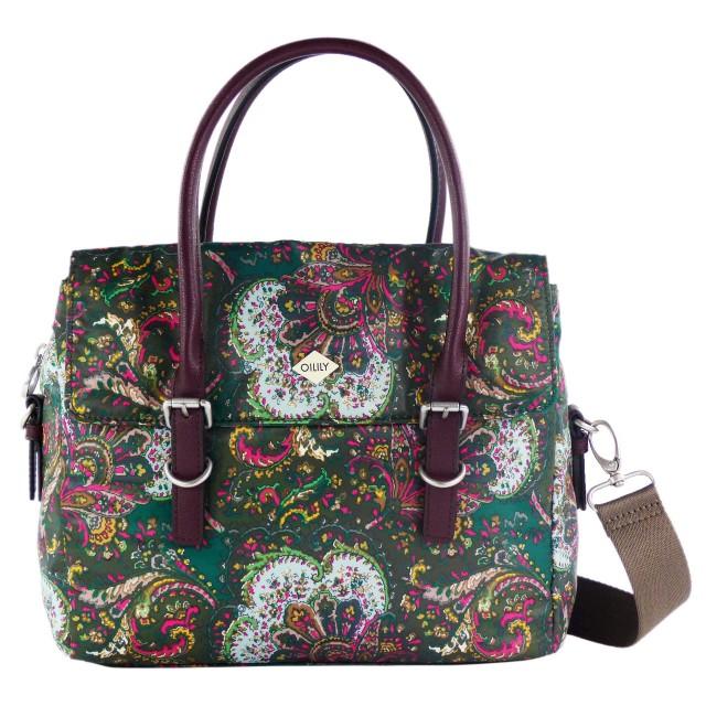 Oilily Picnic Handbag SHZ 1 Green