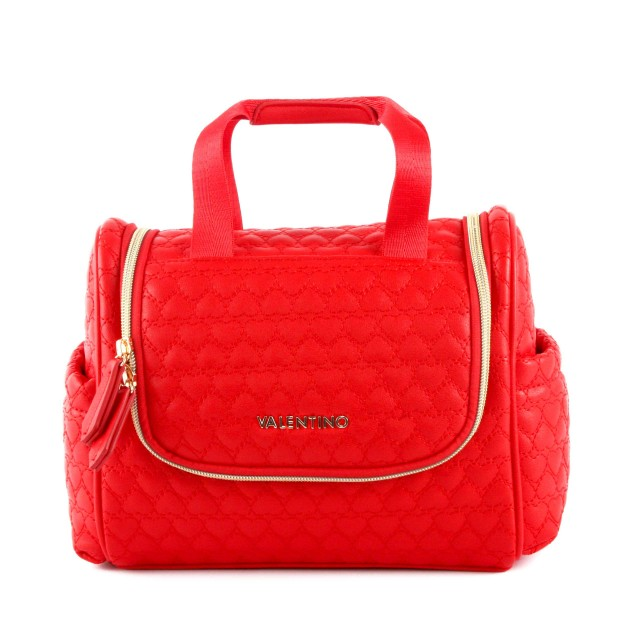 Valentino Golden Travel Kit with Hook Rosso