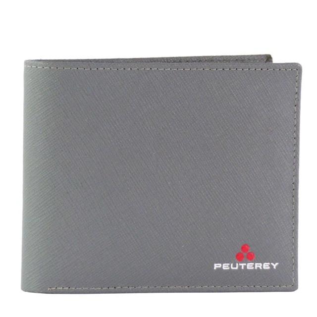 Peuterey TRISTAOWAL - PTT0056 Leder Geldbörse Grau
