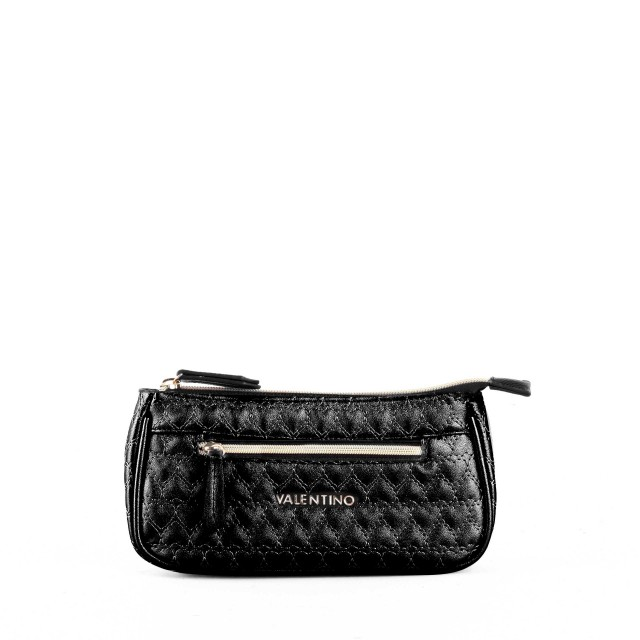 VALENTINO BAGS Golden Basic Cosmetic Bag Nero