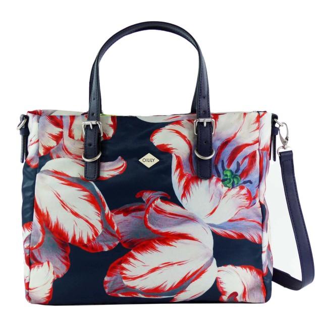 Oilily Picnic Handbag MHZ Dark Blue