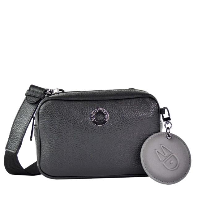 Mandarina Duck Mellow Leather Tracolla Camera Bag Nero