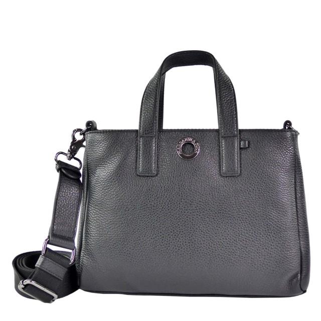 Mandarina Duck Mellow Leather Small Tote Bag Schwarz