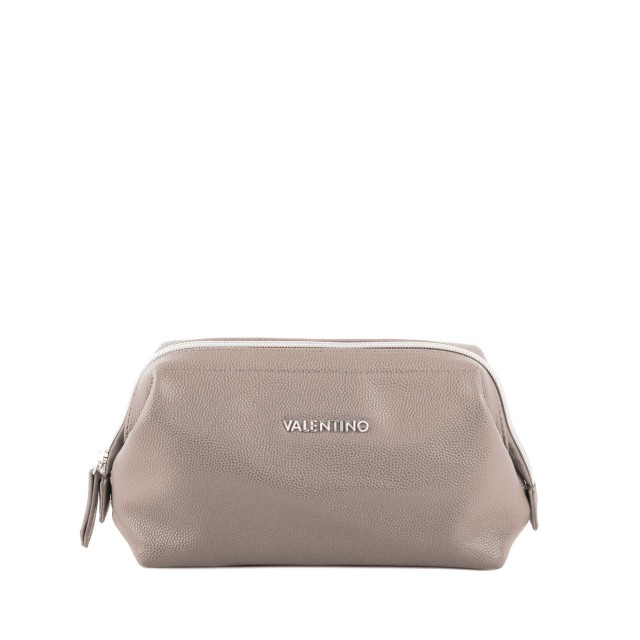 Valentino Globe M Soft Frame Pouch Taupe