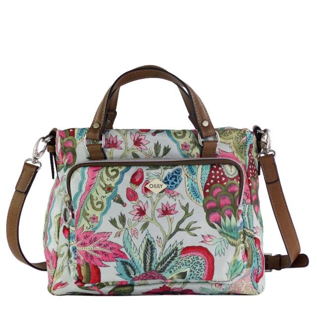 Oilily Picnic Handbag SHZ Light Grey