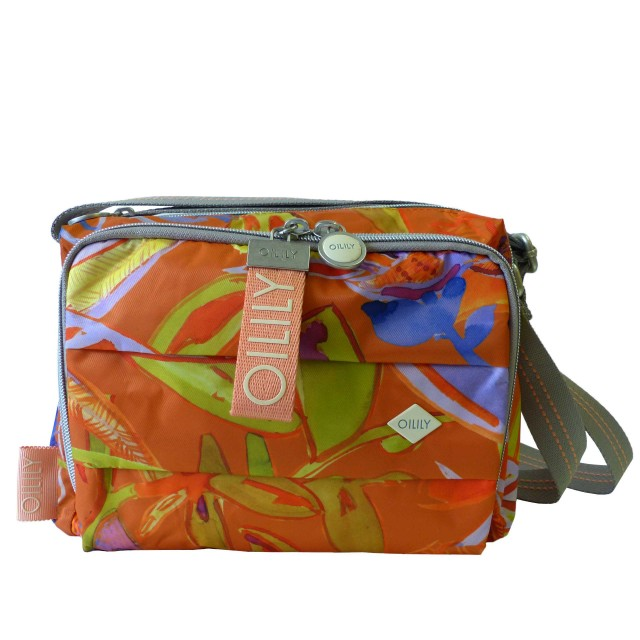 Oilily Ruffles Summerbreeze Shoulderbag Shz 1 Schultertasche Umhängetasche Orange
