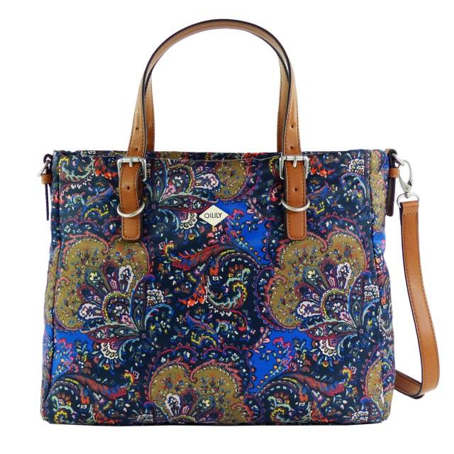 Oilily Picnic Handbag MHZ Night Blue