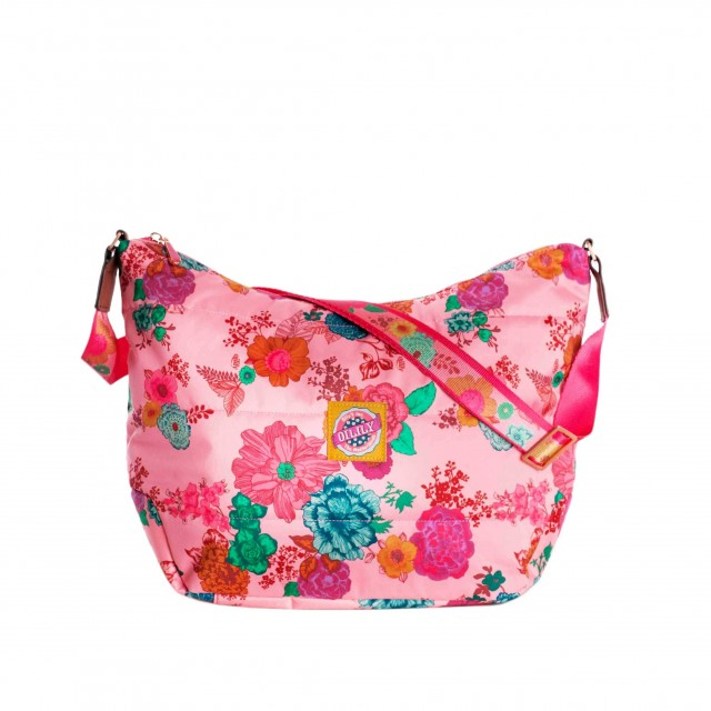 Oilily Colour Splash M Shoulder Bag Camellia Rose