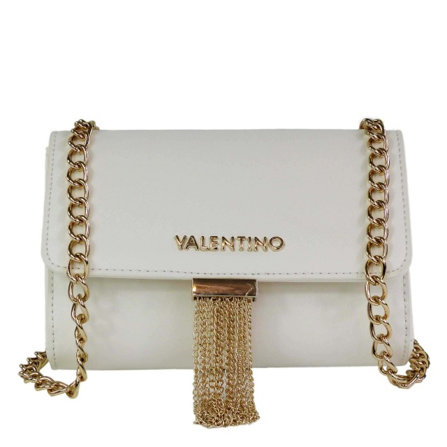 VALENTINO BAGS Damen Piccadilly Umhängetasche Weiß