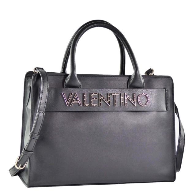 VALENTINO BAGS Fisarmonica Handtasche Schwarz